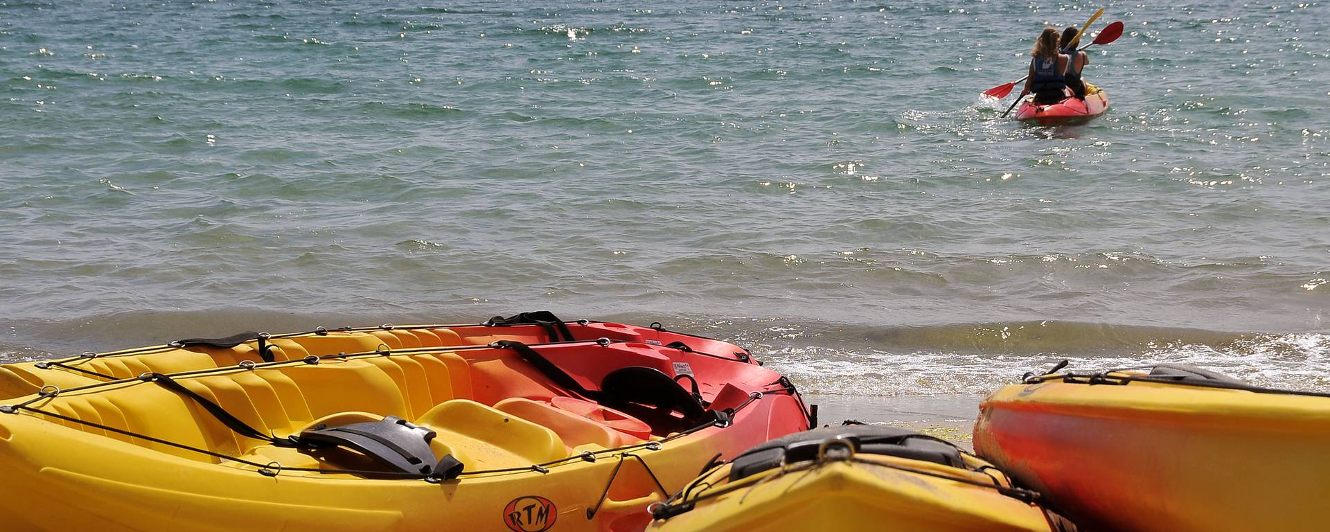 Flotte de kayaks
