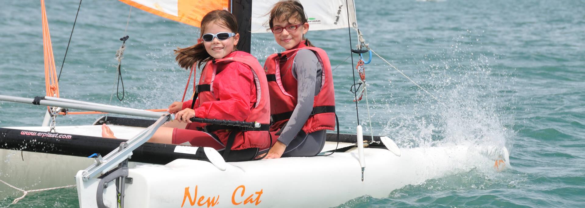 Catamaran initiation de 11 à 13 ans