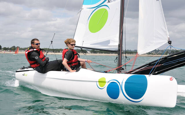 Balade en Catamaran sur SL 5,2/Hobie Cat Pacific/Hobie Cat 16