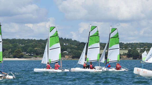 Cycle voile scolaire catamaran