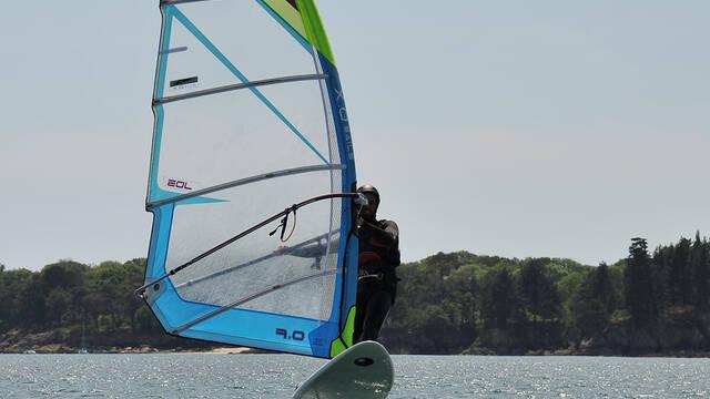 Windsurf à foil