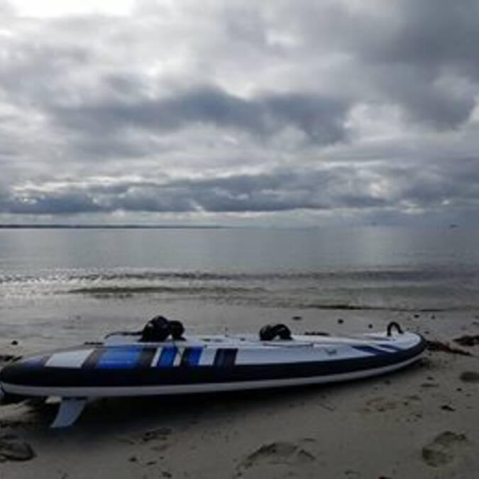 Surf électrique Onéan Carver au Cap Coz