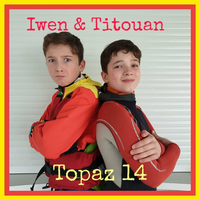 Iwen et Titouan