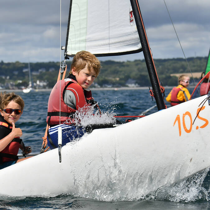 Catamaran initiation enfants