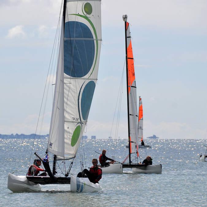 Navigation en catamaran